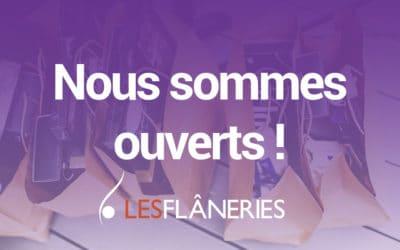 OUVERTURE DU CENTRE COMMERCIAL – Les Flâneries