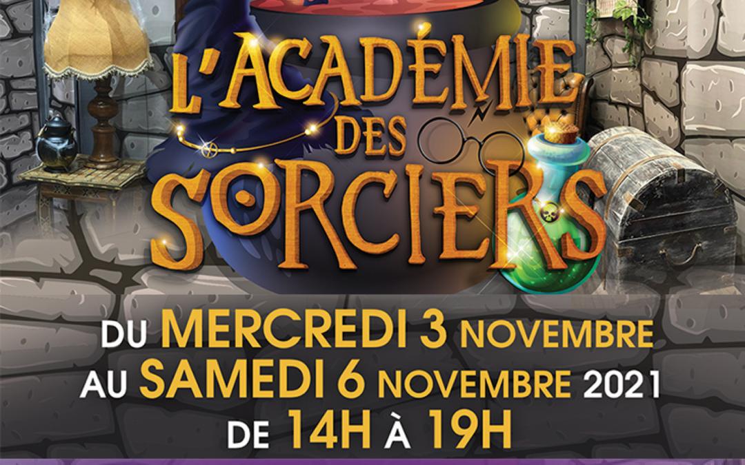 L'Académie des Sorciers arrive !